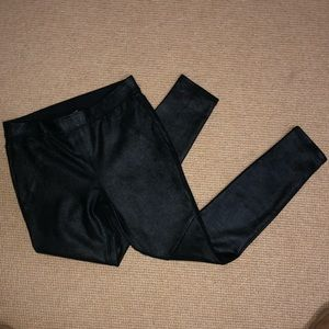Free People Leather Leggings NWOT